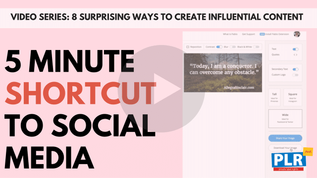 The 5 Minute Shortcut To Crushing It On Social Media