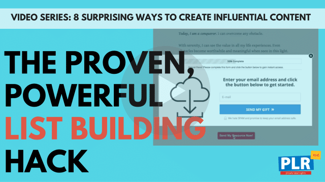 The Proven, Powerful List Building Hack Used By Pros