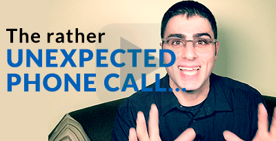 The Unexpected Phone Call