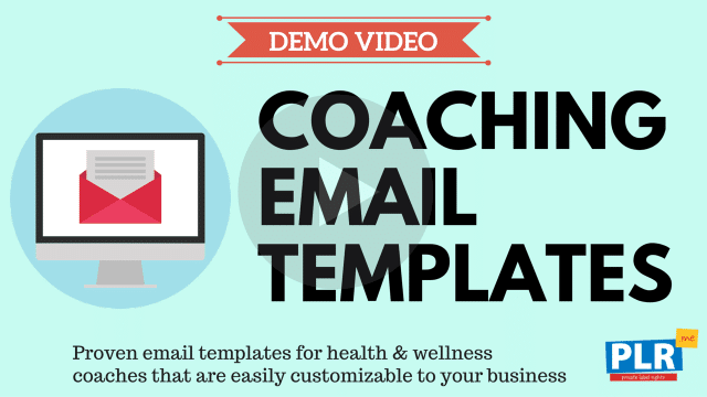 Coaching Email Templates: Proven email templates for health & wellness coaches that are easily customizable to your business