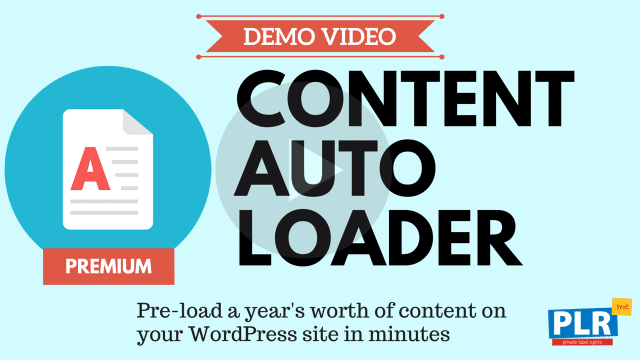 Content Auto Loader: Pre-load a year's worth of content on your WordPress site in minutes
