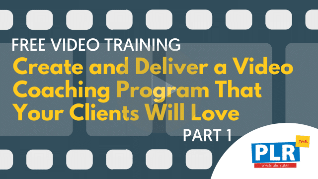A Step By Step Guide to Create and Deliver a Video Coaching Program with Authority That Your Clients Will Love (Part 1)