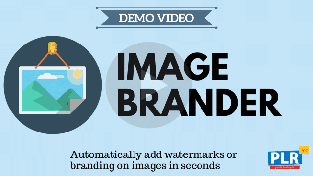 Image Brander: Automatically add watermarks or branding on images in seconds