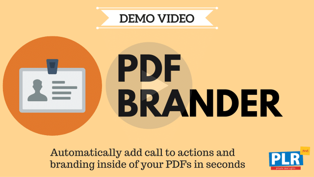 PDF Brander: Automatically add call to actions and branding inside of your PDFs in seconds