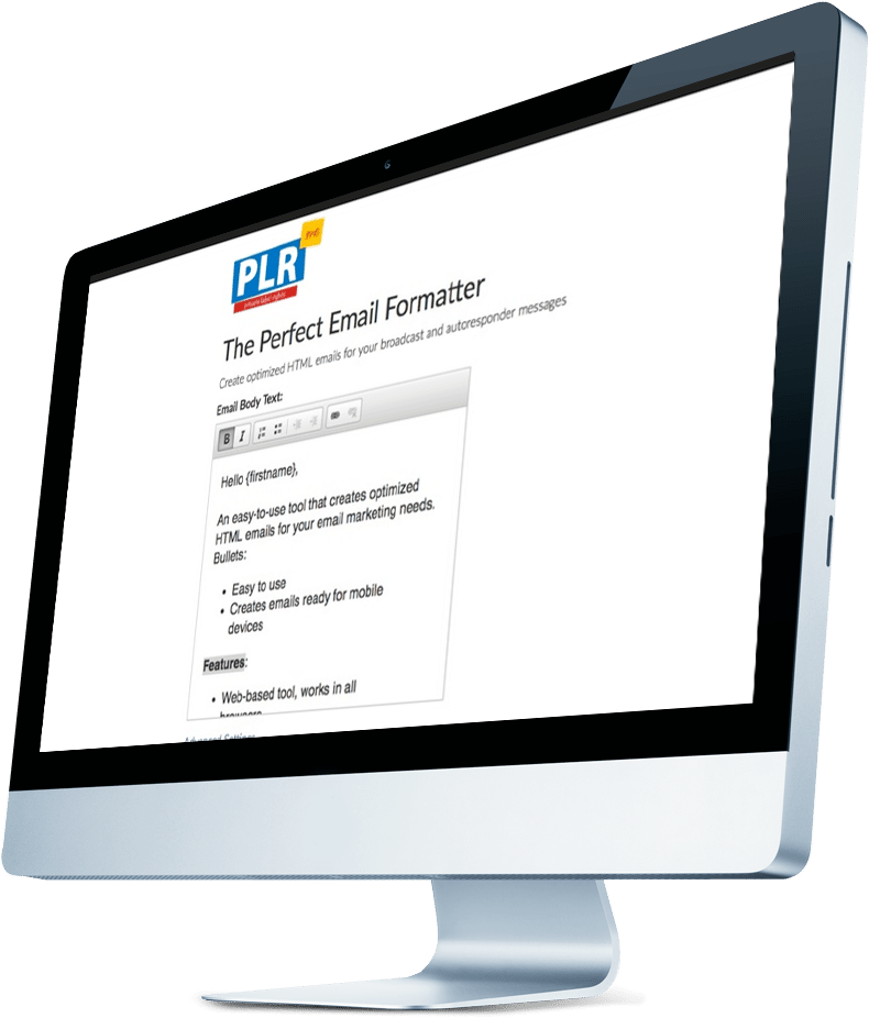 Perfect Email Formatter Tool