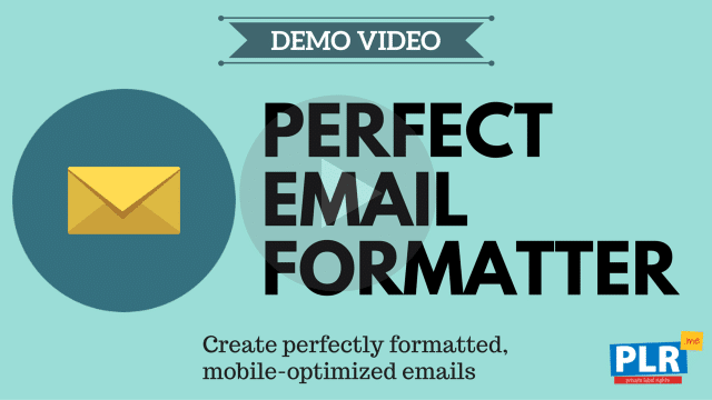 Perfect Email Formatter: Create perfectly formatted, mobile-optimized emails