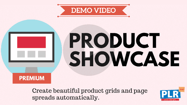 Product Showcase: Create beautiful product grids and page spreads automatically.